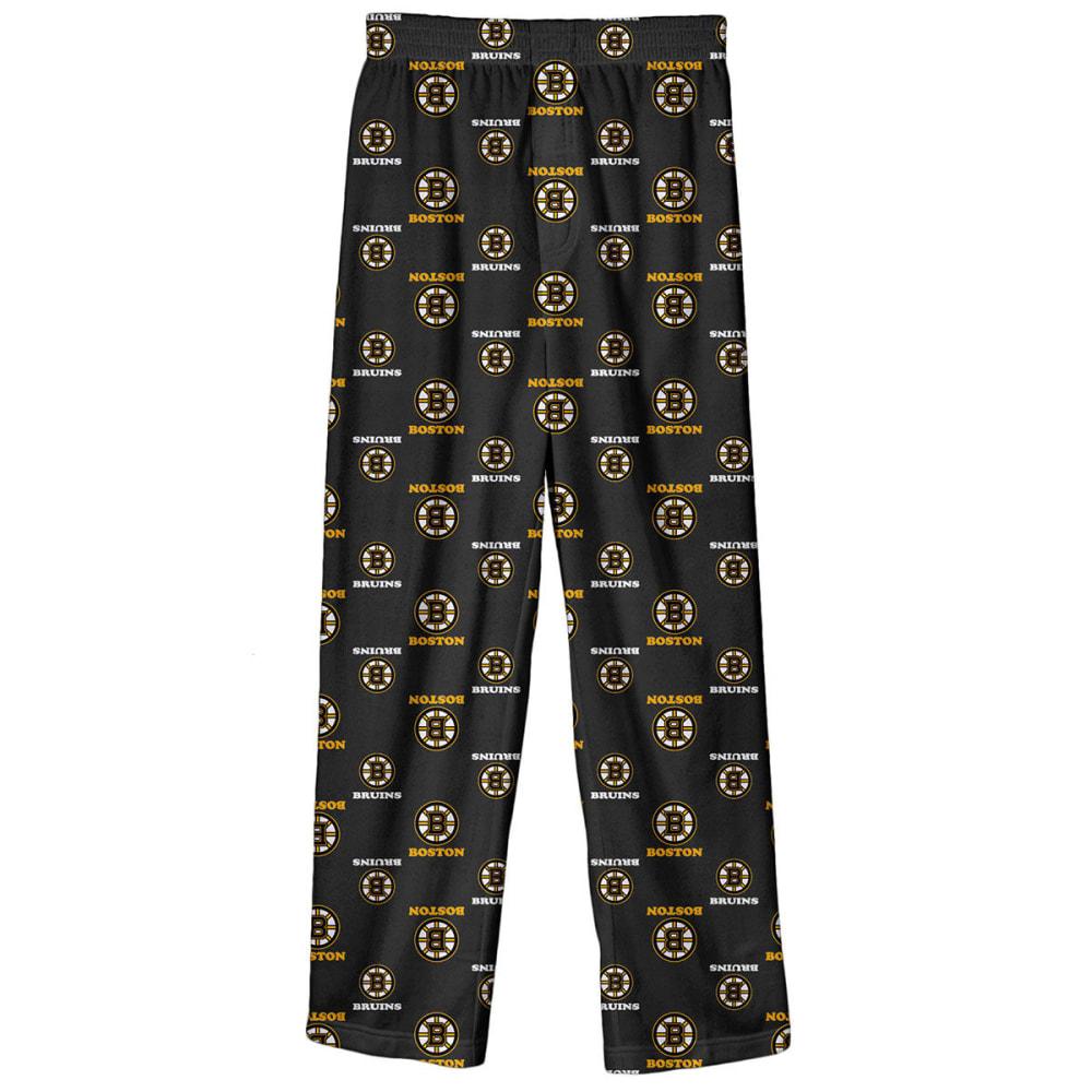 BOSTON BRUINS Boys' Team Logo Sleep Pants - BLACK