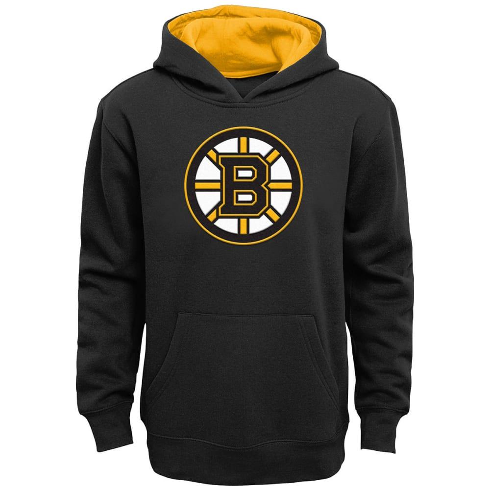 BOSTON BRUINS Boys' Prime Pullover Hoodie - BLACK
