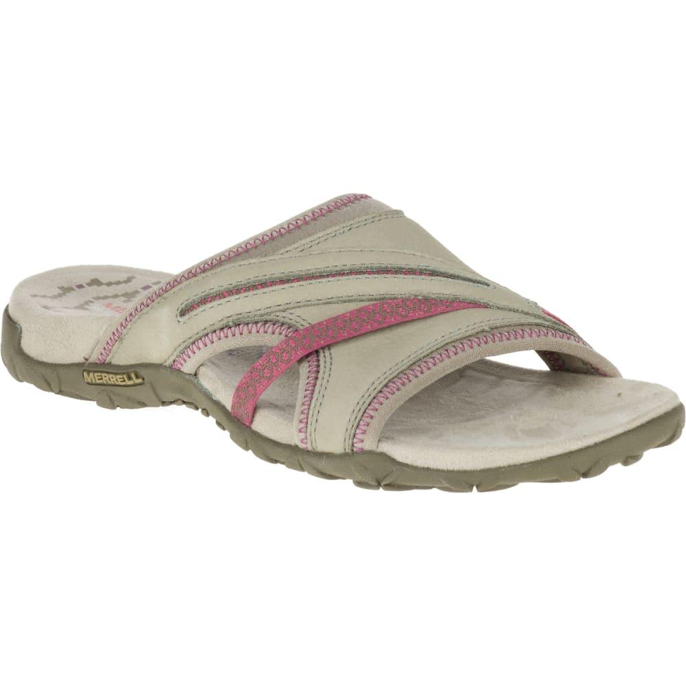 MERRELL Women's Terran Slide II Sandals, Taupe - TAUPE