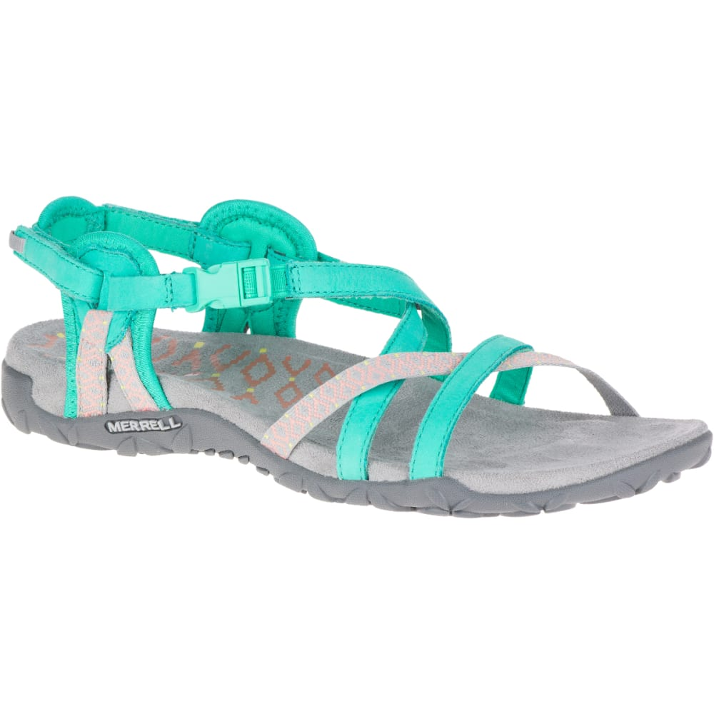 MERRELL Women's Terran Lattice II Sandals, Atlantis - ATLANTIS