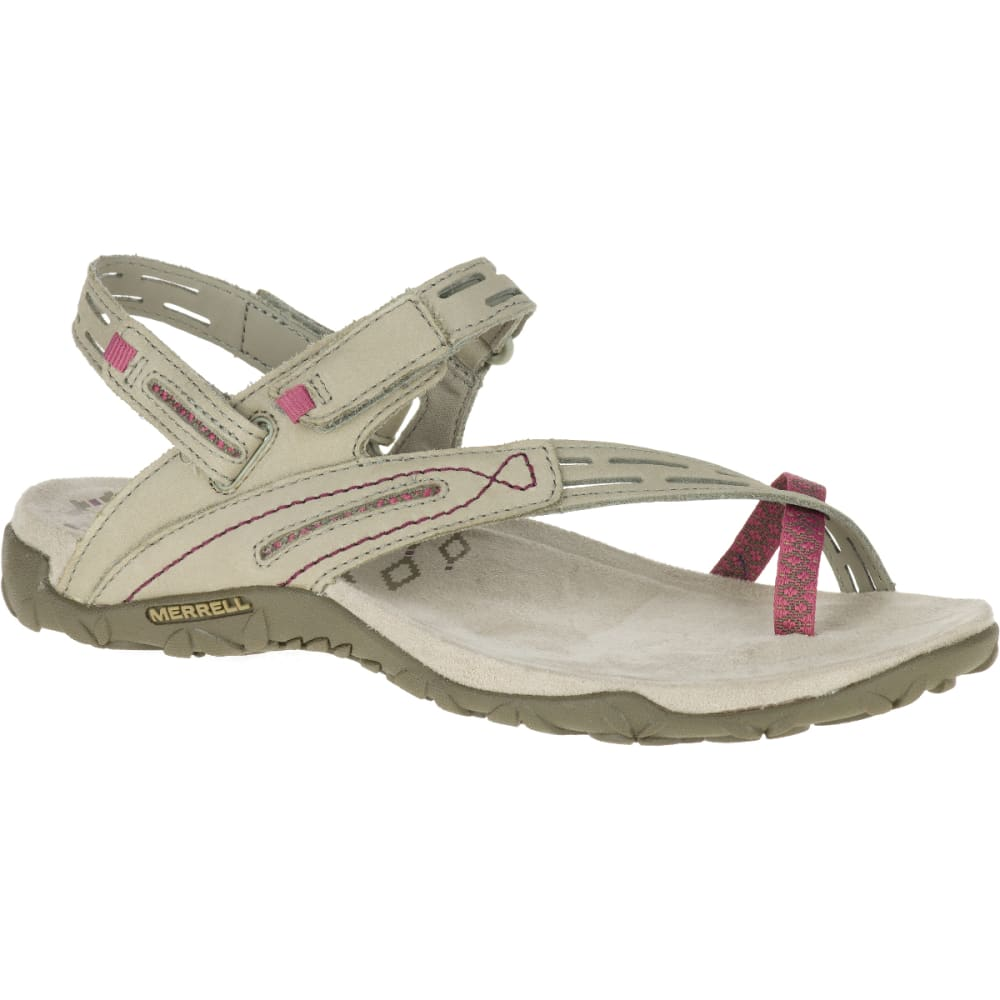 MERRELL Women's Terran Convertible II Sandals, Taupe - TAUPE