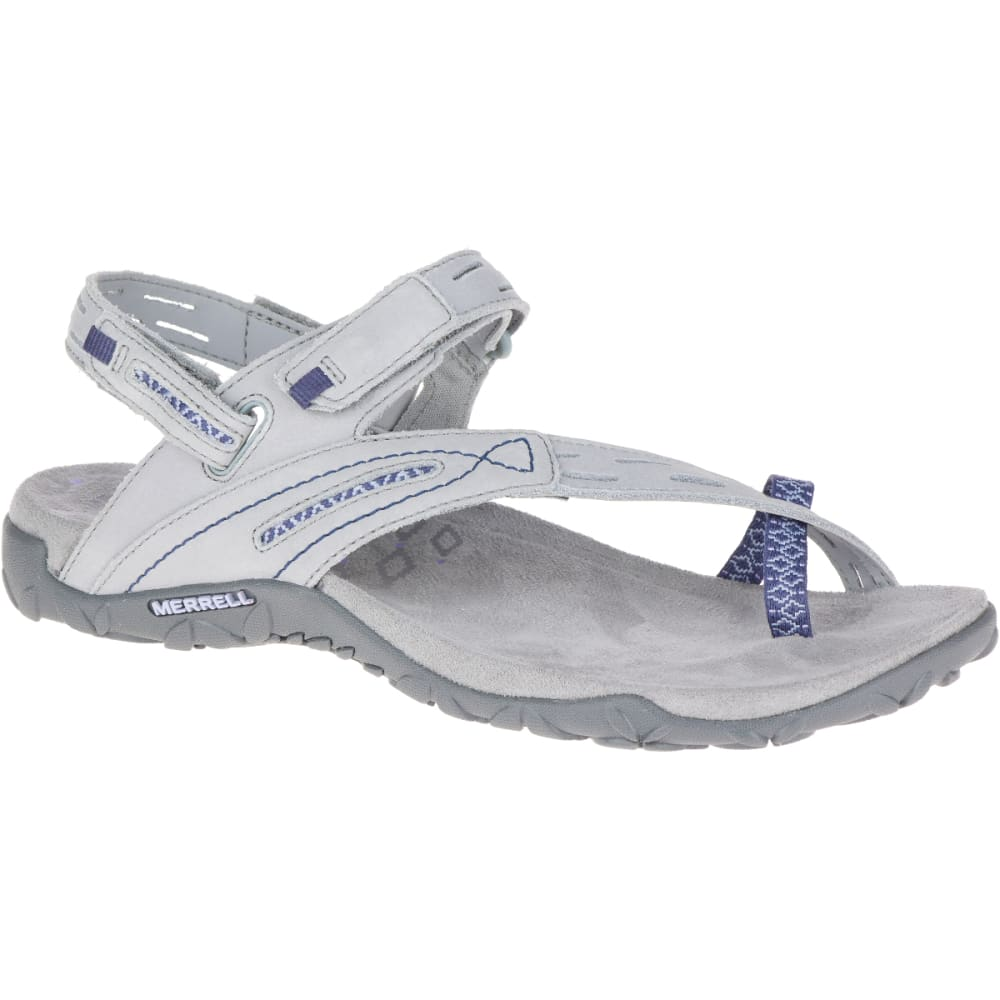 MERRELL Women's Terran Convertible II Sandals, Sleet - SLEET