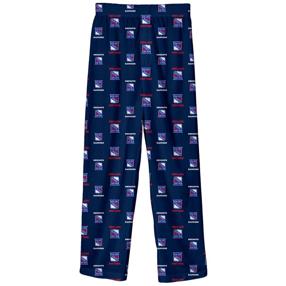 NEW YORK RANGERS Big Boys' Printed Logo Sleep Pants - ROYAL BLUE