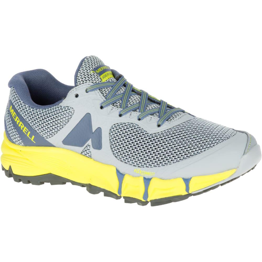MERRELL Women's Agility Charge Flex Trail Running Shoes, Sleet - SLEET