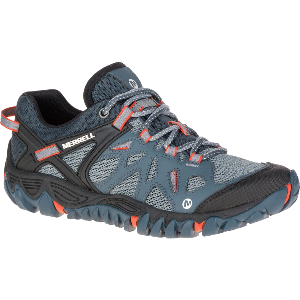 MERRELL Women's All About BlazeAero Sport Hiking Shoes, Dark Slate - DARK SLATE