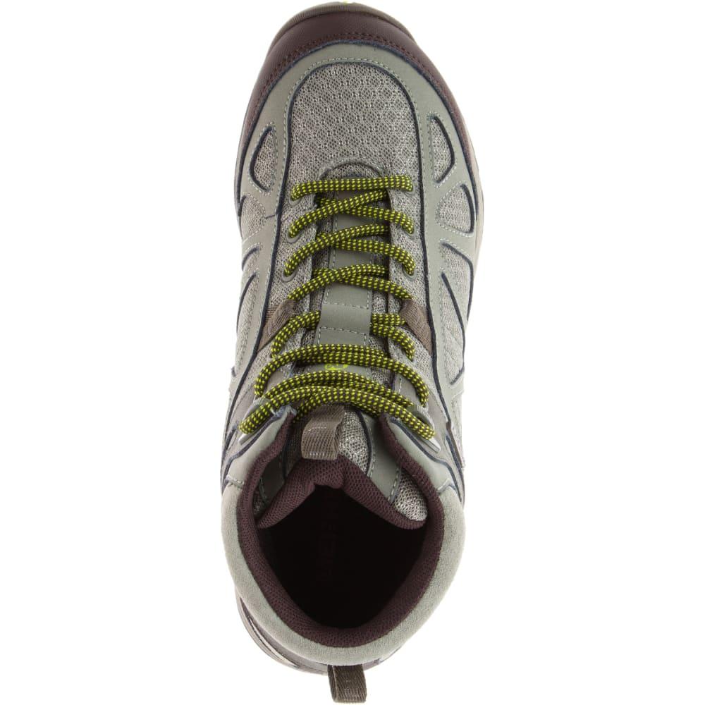 MERRELL Women's Siren Sport Q2 Mid Waterproof Hiking Boots, Dusty Olive, Wide - DUSTY OLIVE