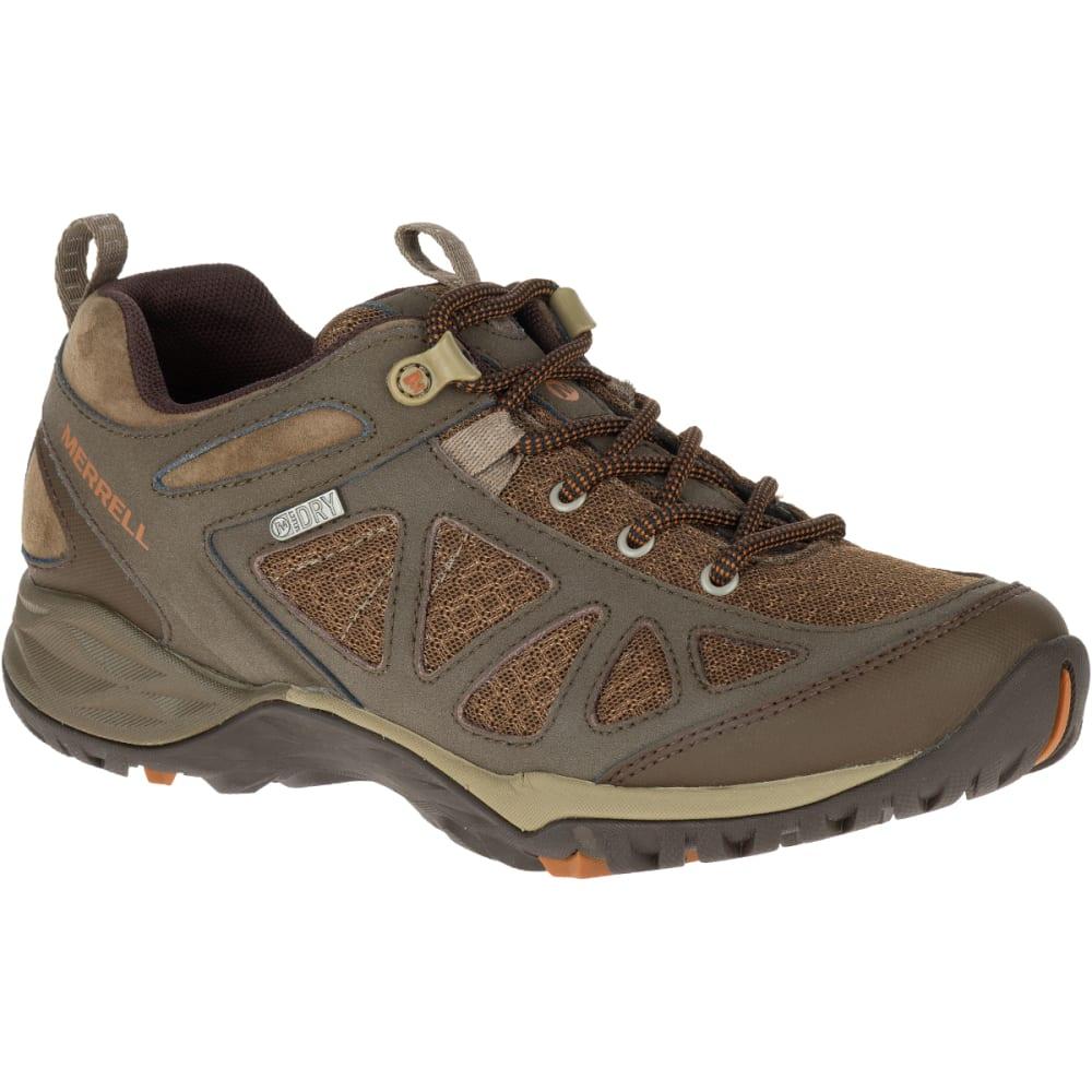 MERRELL Women's Siren Sport Q2 Waterproof Hiking Boots, Slate Black, Wide 5