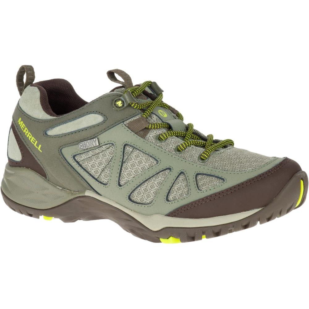 MERRELL Women's Siren Sport Q2 Waterproof Hiking Boots, Dusty Olive, Wide - DUSTY OLIVE