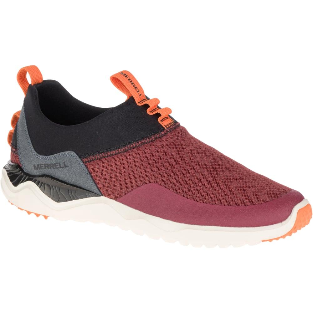 MERRELL Men's 1SIX8 Mesh Moc Trail Running Shoes, Fired Brick - FIRED BRICK