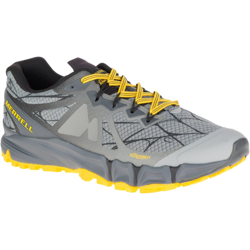 MERRELL Men's Agility Peak Flex Trail Running Shoes, Wild Dove - WILD DOVE