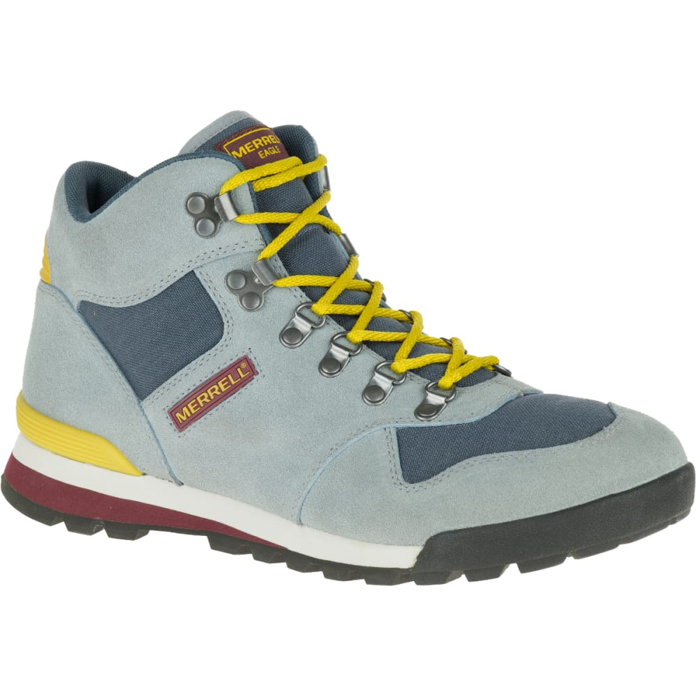 MERRELL Men's Eagle Hiking Boots, Monument - MONUMENT