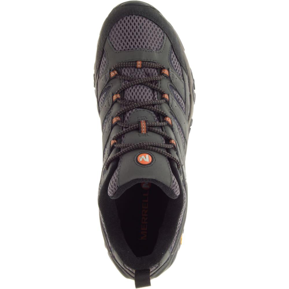 MERRELL Men's Moab 2 GORE-TEX Waterproof Hiking Shoes, Beluga - BELUGA