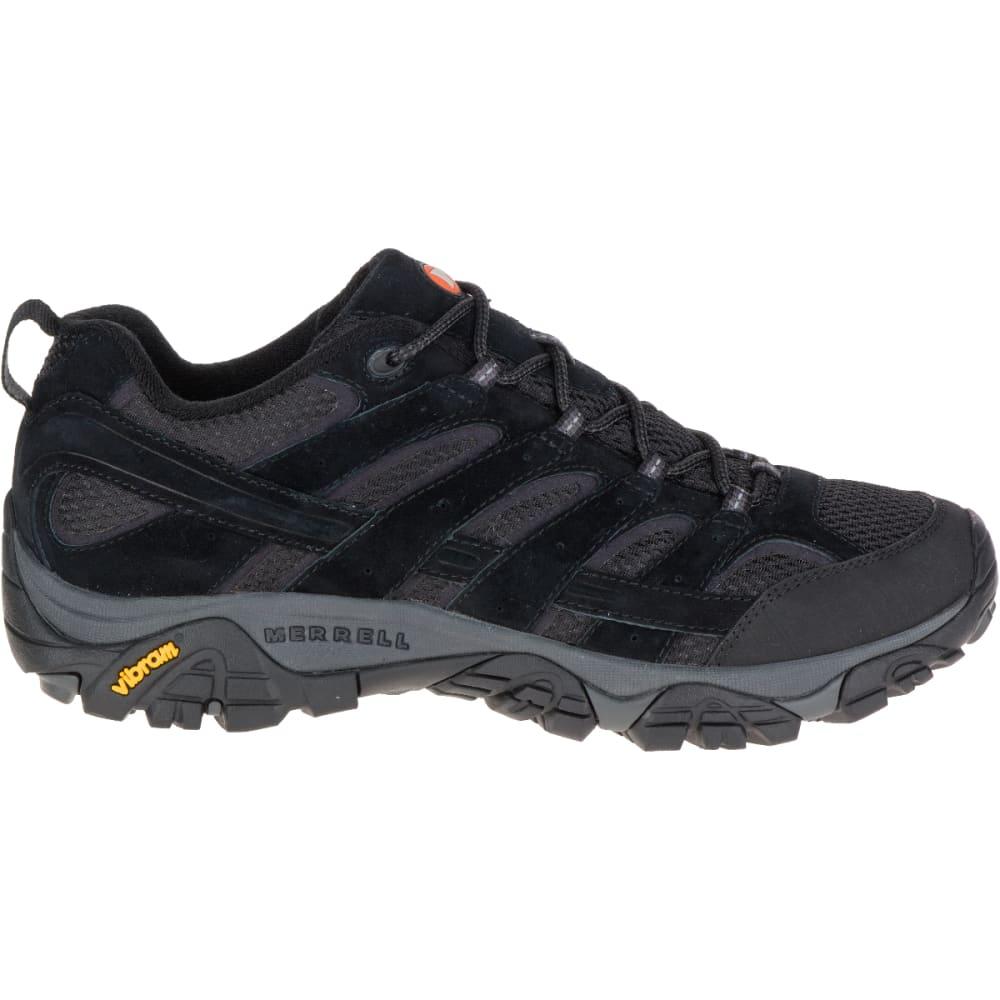 MERRELL Men's Moab 2 Ventilator Hiking Shoes, Black Night - BLACK NIGHT