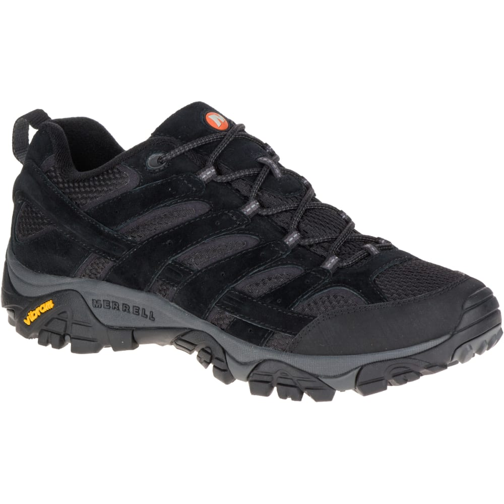 MERRELL Men's Moab 2 Ventilator Hiking Shoes, Black Night 8