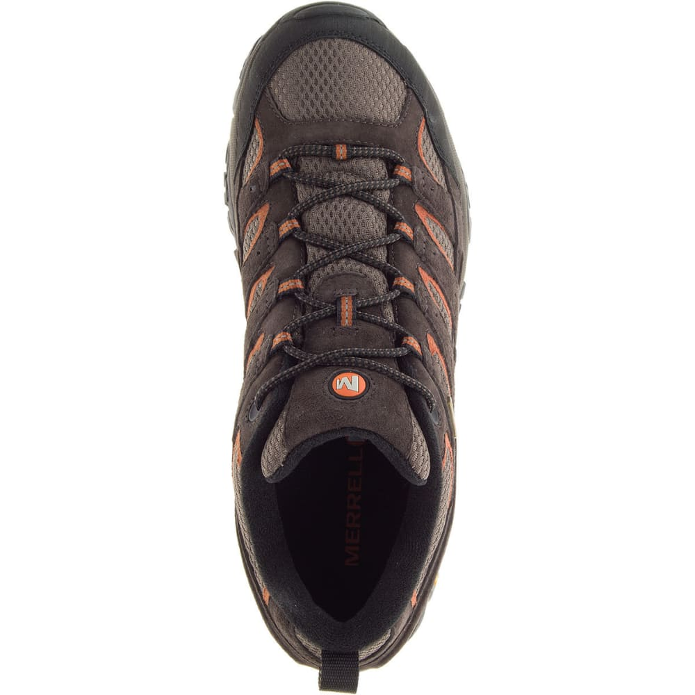 MERRELL Men's Moab 2 Waterproof Hiking Shoes, Espresso - ESPRESSO