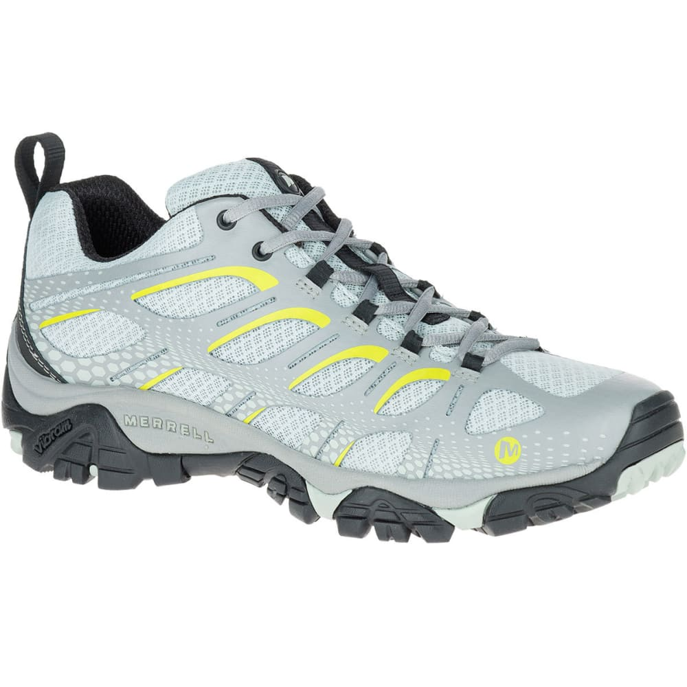 MERRELL Men's Moab Edge Hiking Shoes, Storm Grey - STORM GREY