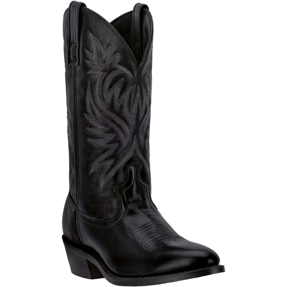 LAREDO Men's London Cowboy Boots, Black, D-Width - BLACK