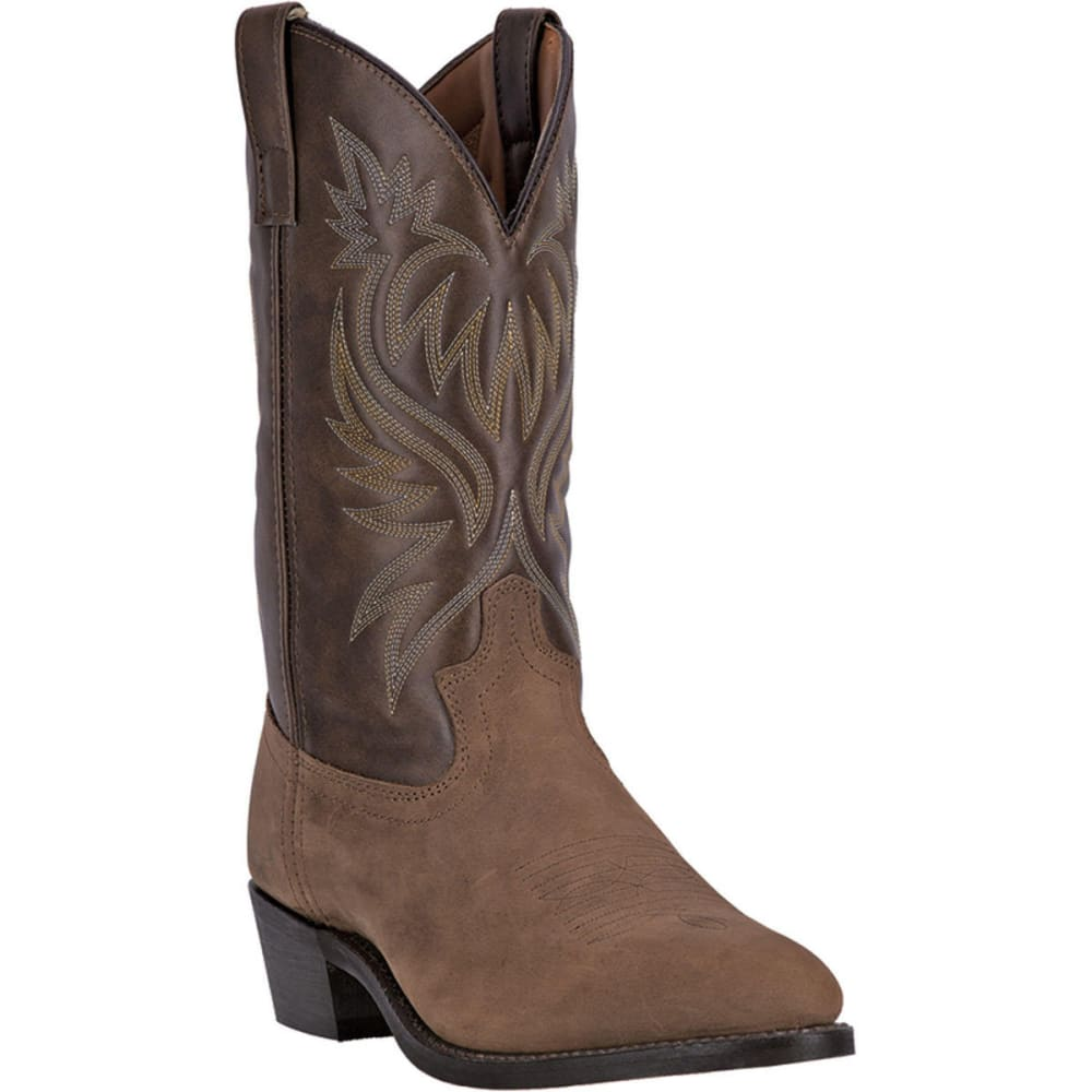LAREDO Men's London Cowboy Boots, Tan, Extra Wide Sizes - TAN DISTRESSED