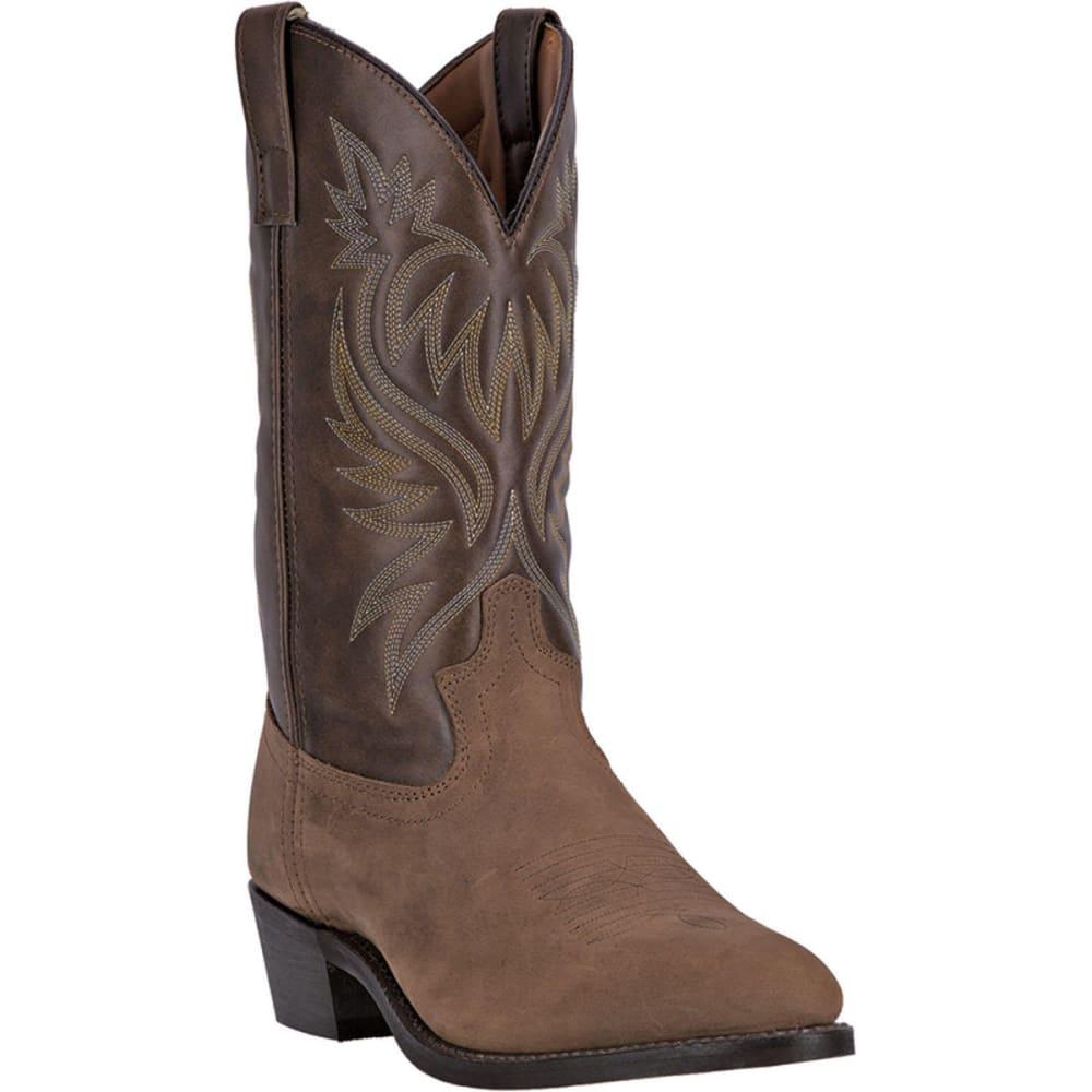 LAREDO Men's London Cowboy Boots, Tan, Extra Wide Sizes - TAN DISTRESSED