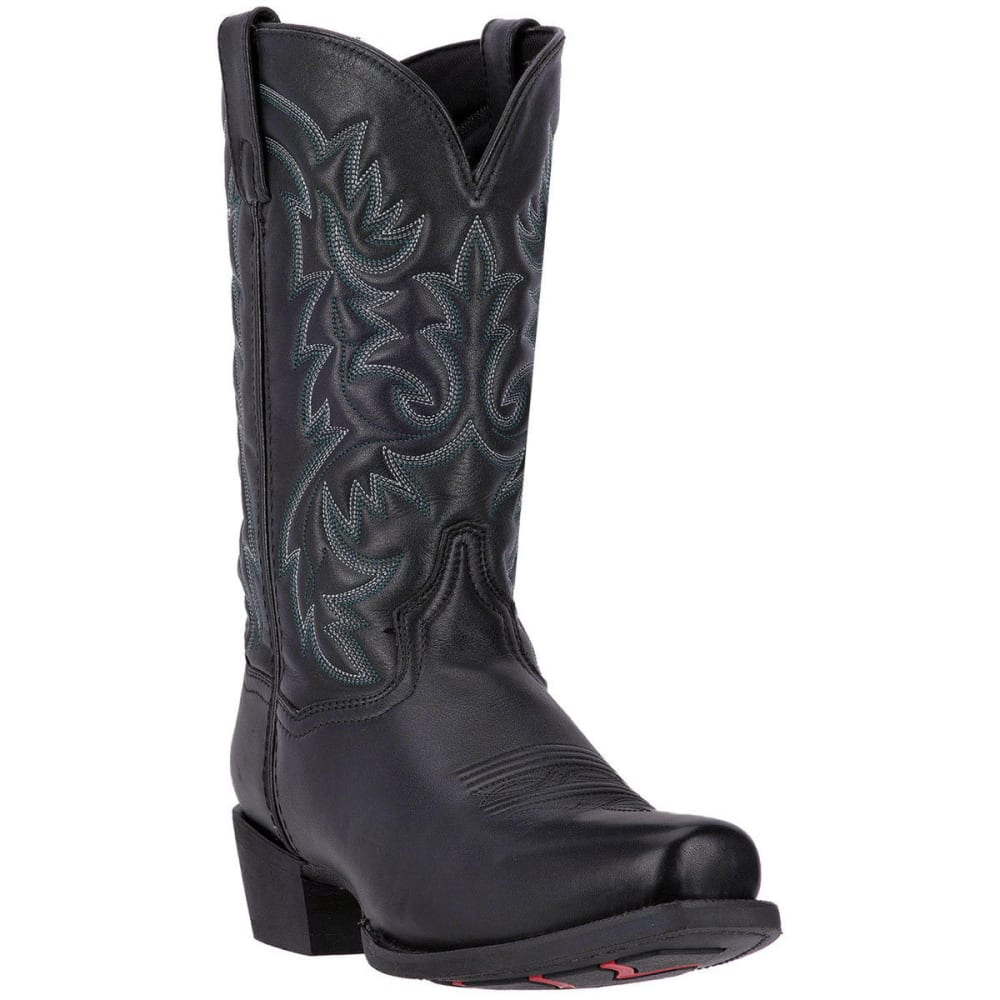LAREDO Men's Bryce Cowboy Boots, Black, Extra Wide Sizes - BLACK