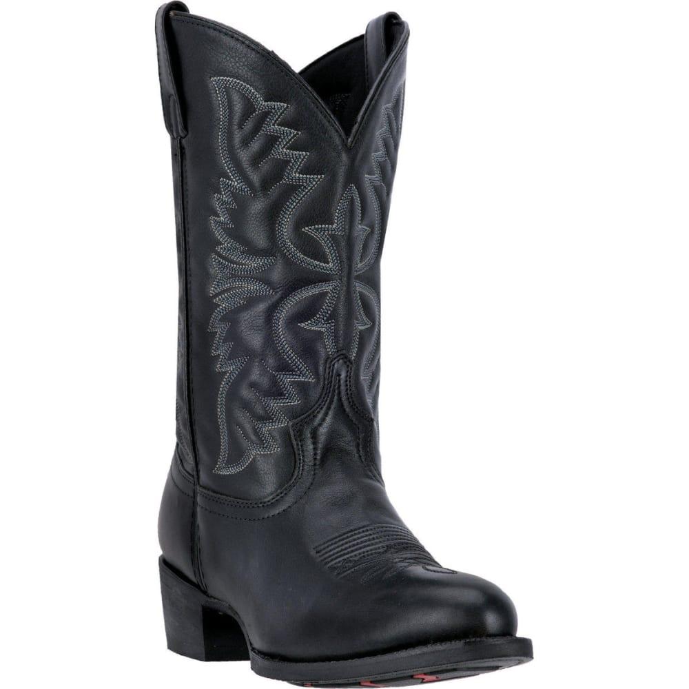 LAREDO Men's Birchwood Cowboy Boots, Black, D Width - BLACK