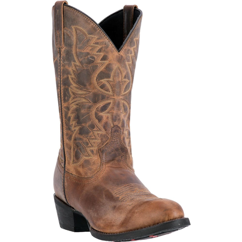 LAREDO Men's Birchwood Cowboy Boots, Tan, D Width - TAN DISTRESSED