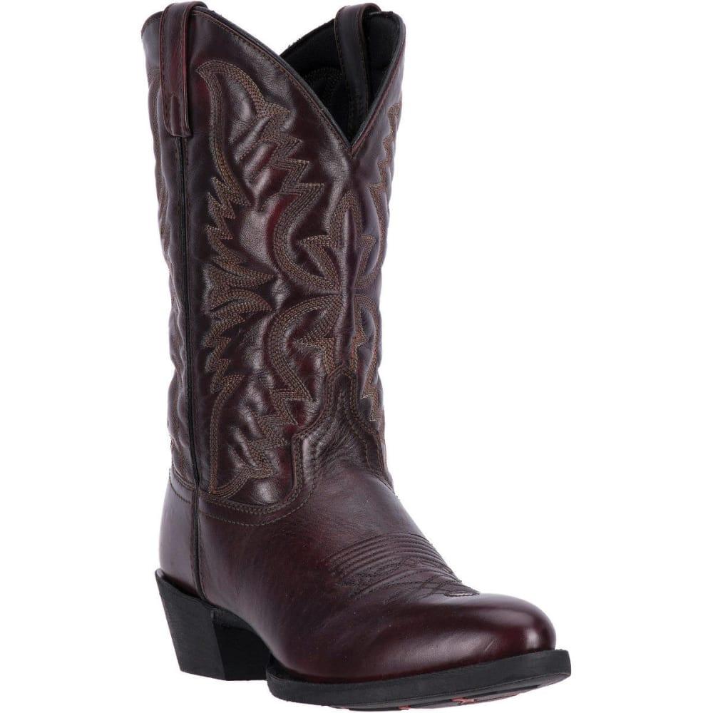 LAREDO Men's Birchwood Cowboy Boots, Black Cherry, Extra Wide Sizes - BLACK CHERRY