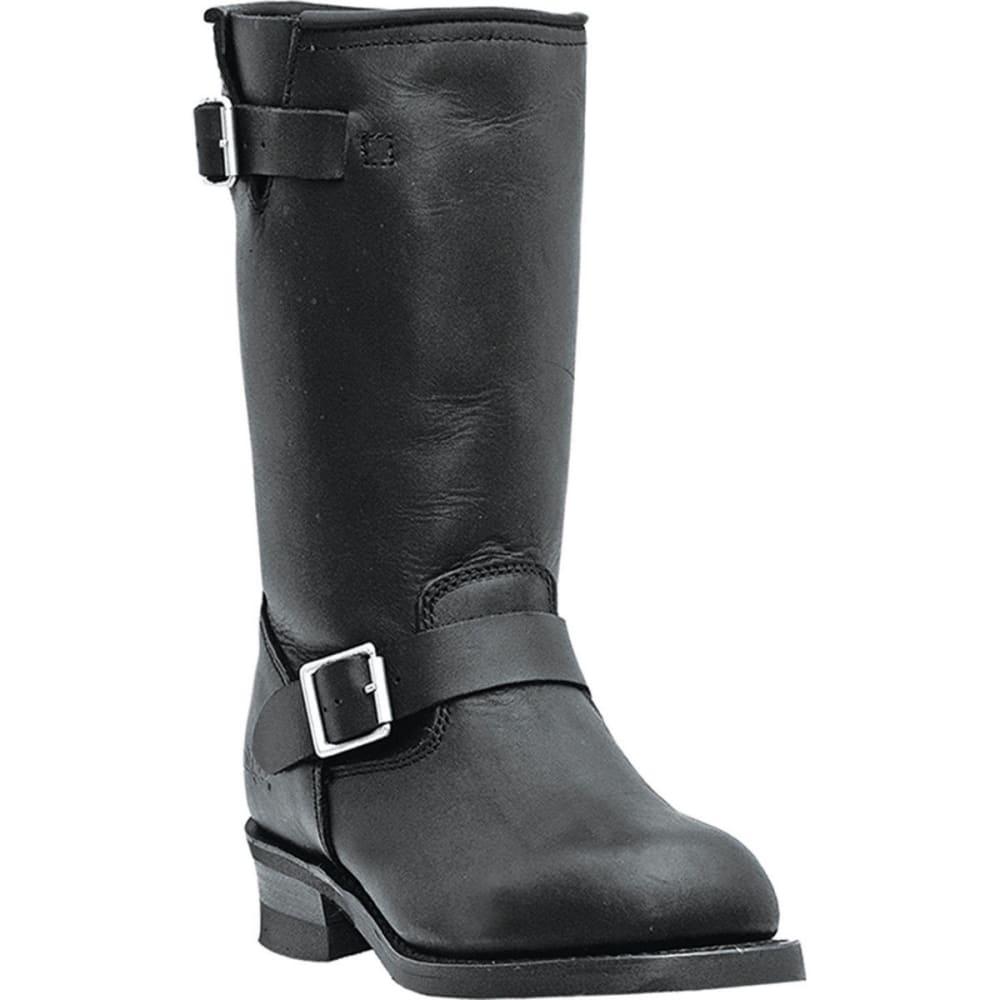 DINGO Men's Rob Boots, Black, Extra Wide Sizes - BLACK