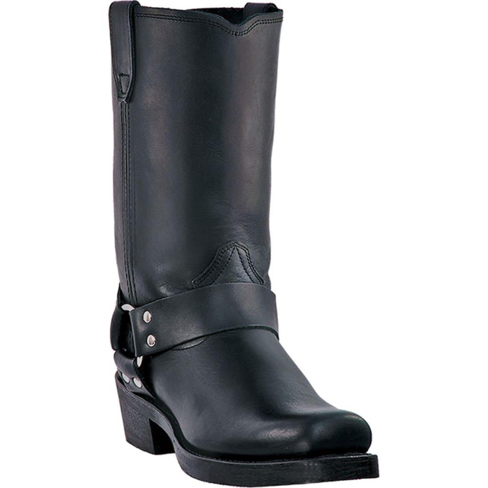 DINGO Men's Dean Boots, Black, Extra Wide Sizes - BLACK