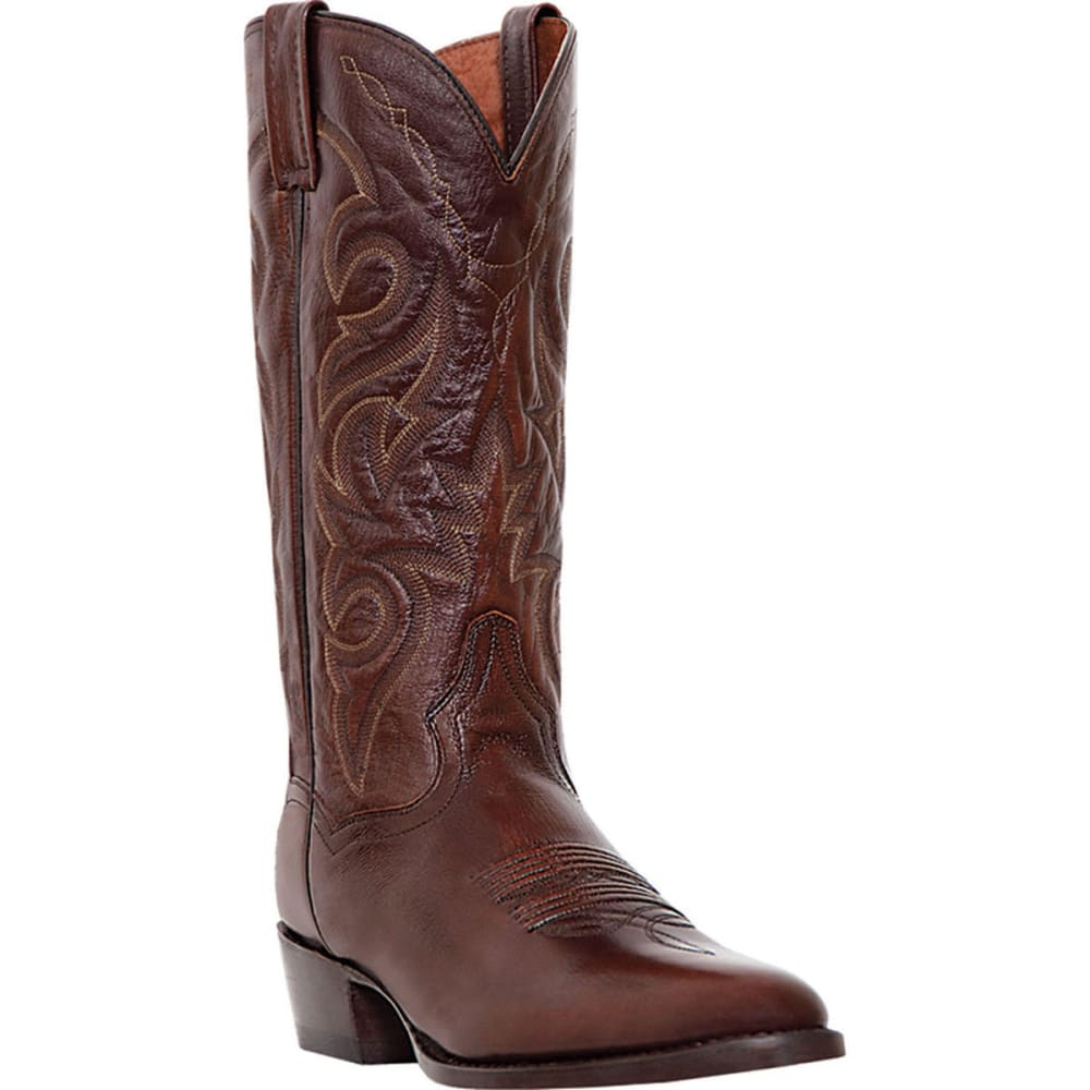 Dan Post Men's Milwaukee Cowboy Boots, Antique Tan, Extra Wide Sizes - Brown, 9