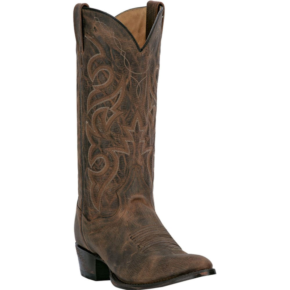 Dan Post Men's Renegade Cowboy Boots, Bay Apache, Extra Wide Sizes - Brown, 9