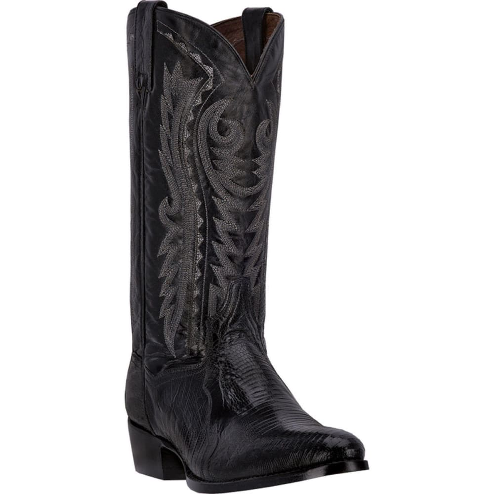 DAN POST Men's Raleigh Cowboy Boots, Black, Extra Wide Sizes - BLACK