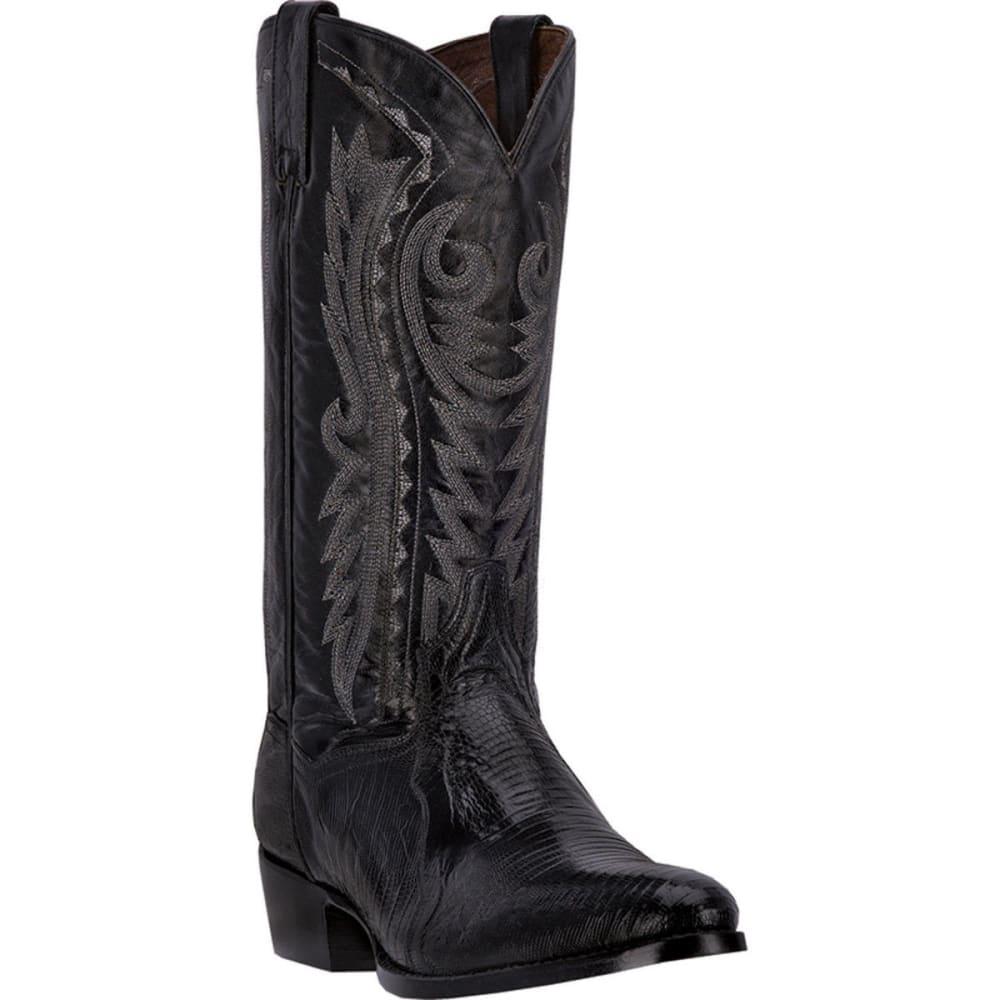 DAN POST Men's Raleigh Cowboy Boots, Black, Extra Wide Sizes - BLACK