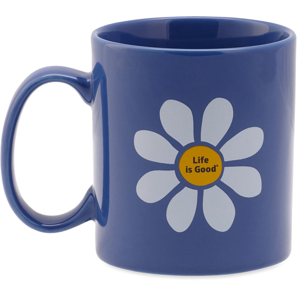 LIFE IS GOOD Daisy Jake's Mug - NO COLOR