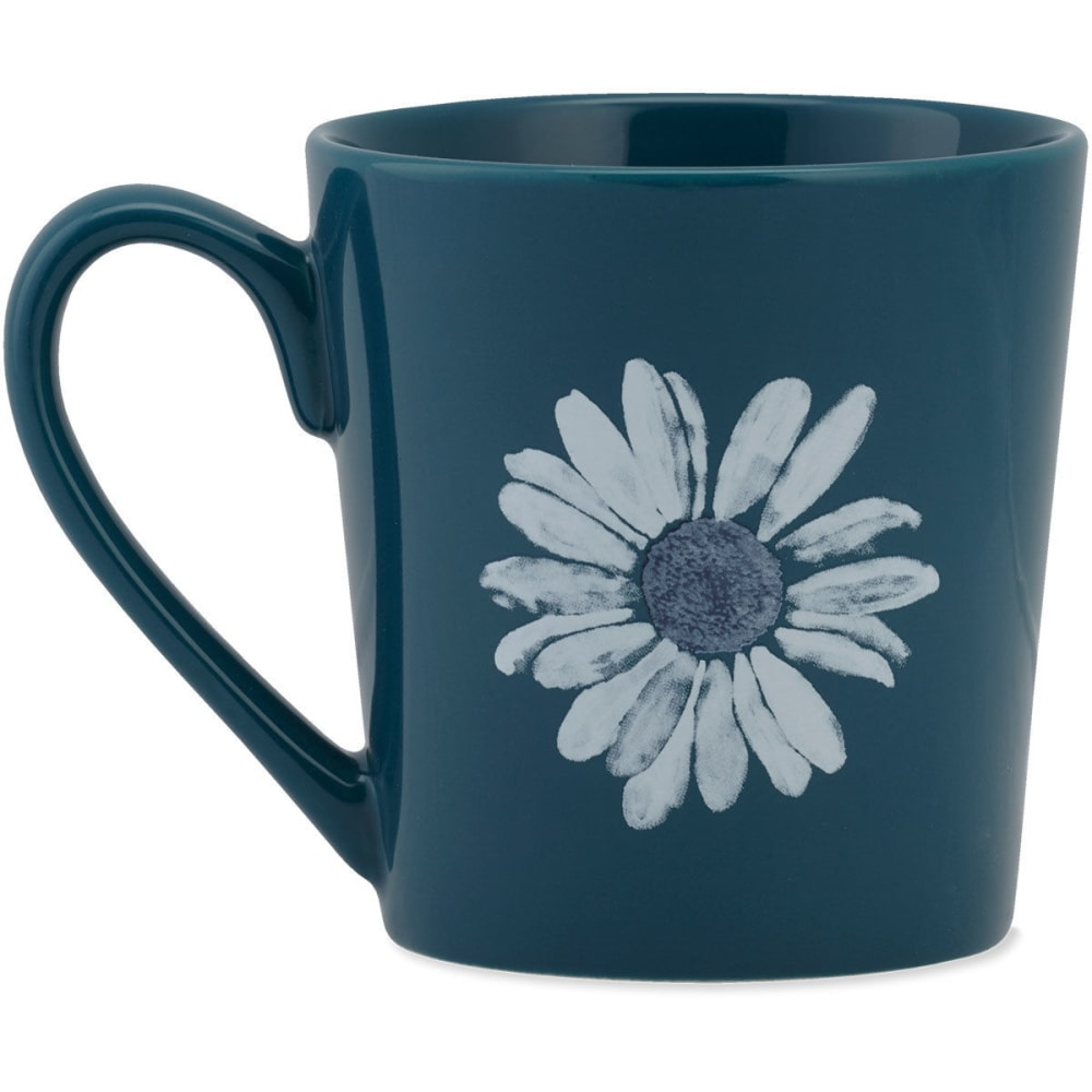 LIFE IS GOOD Daisy Watercolor Everyday Mug - NO COLOR