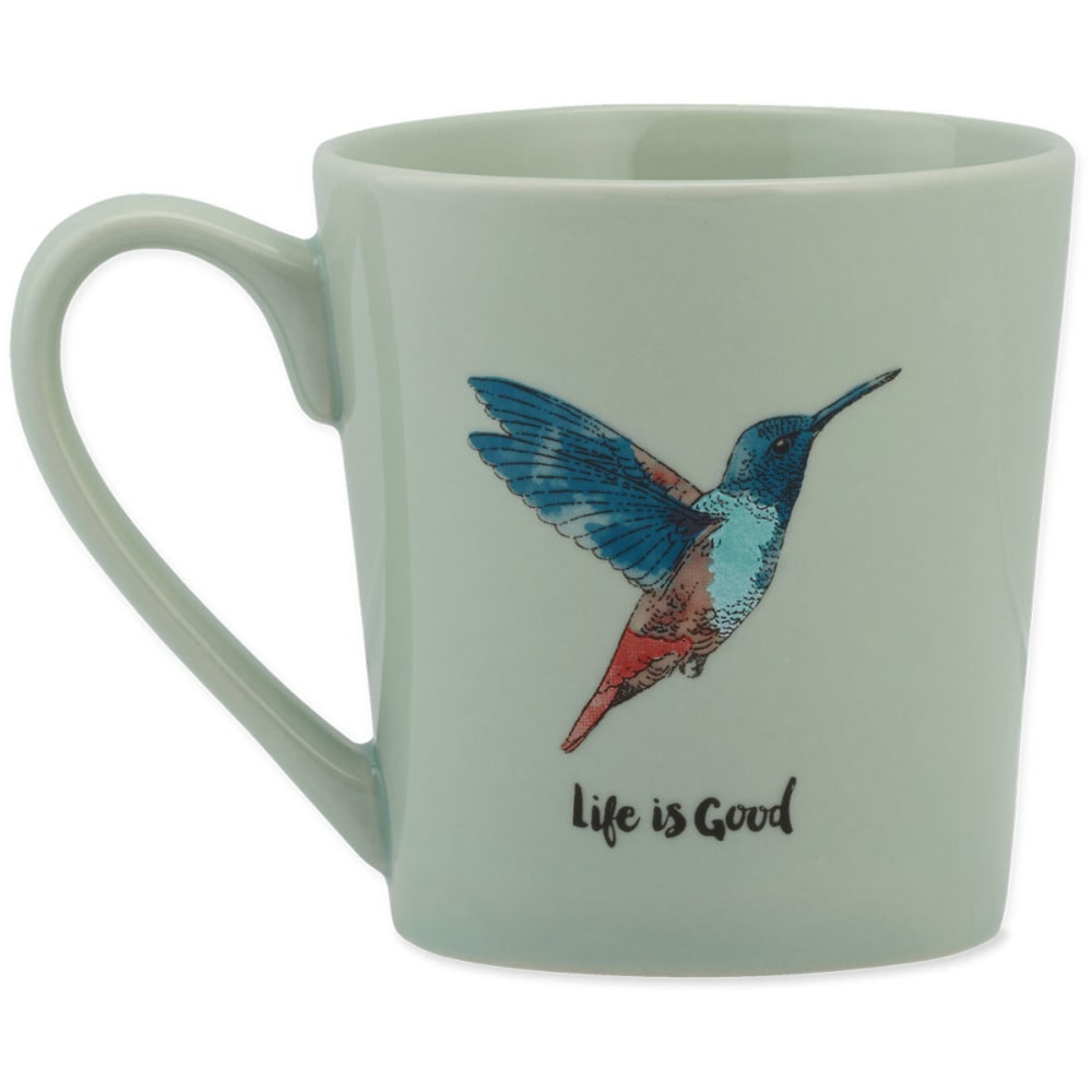 LIFE IS GOOD Hummingbird Everyday Mug - NO COLOR