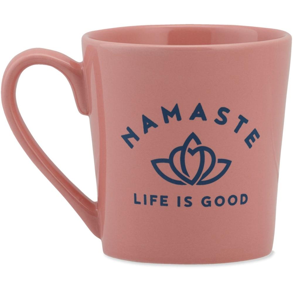 LIFE IS GOOD Namaste Lotus Everyday Mug - NO COLOR