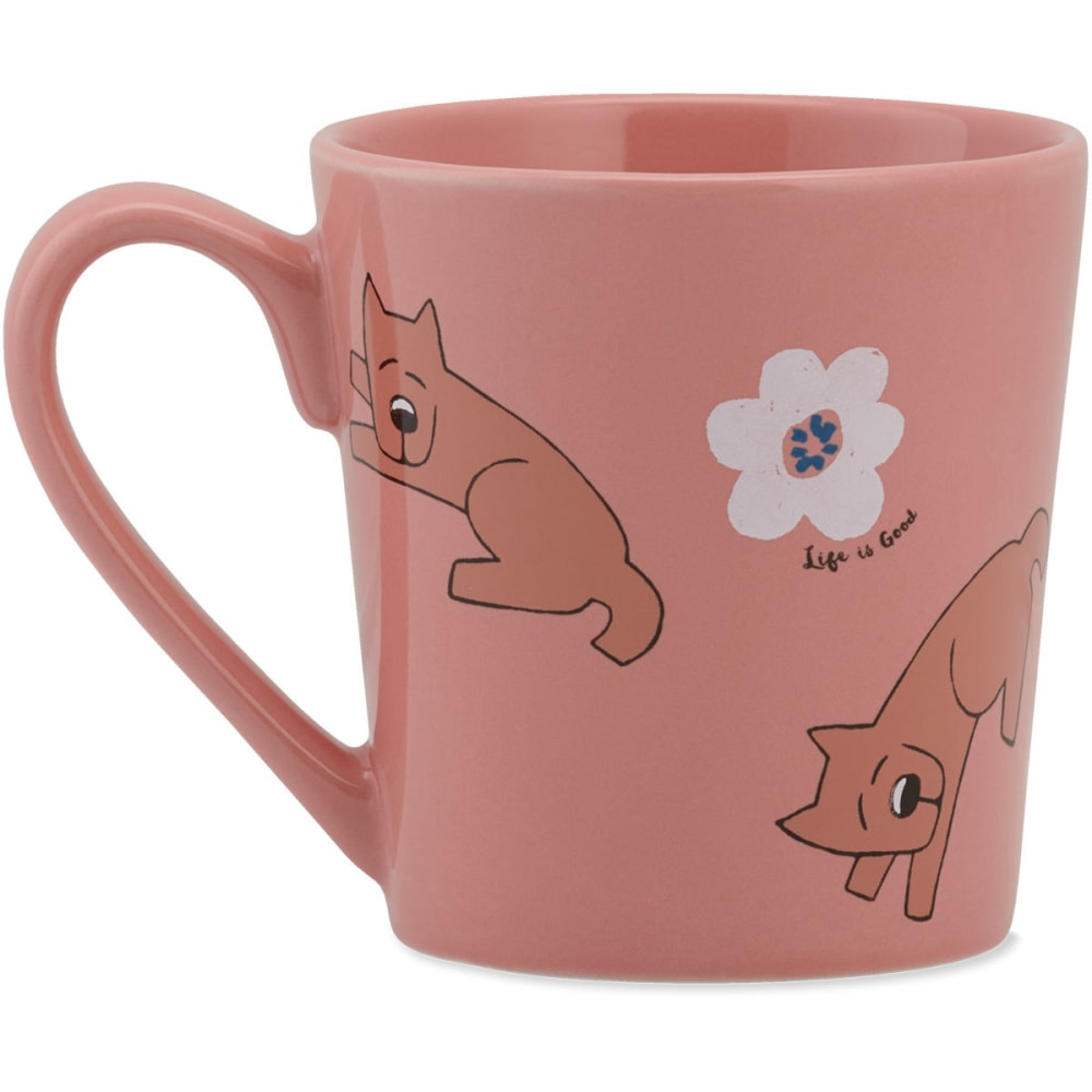 LIFE IS GOOD Rocket Daisy Toss Everyday Mug - NO COLOR
