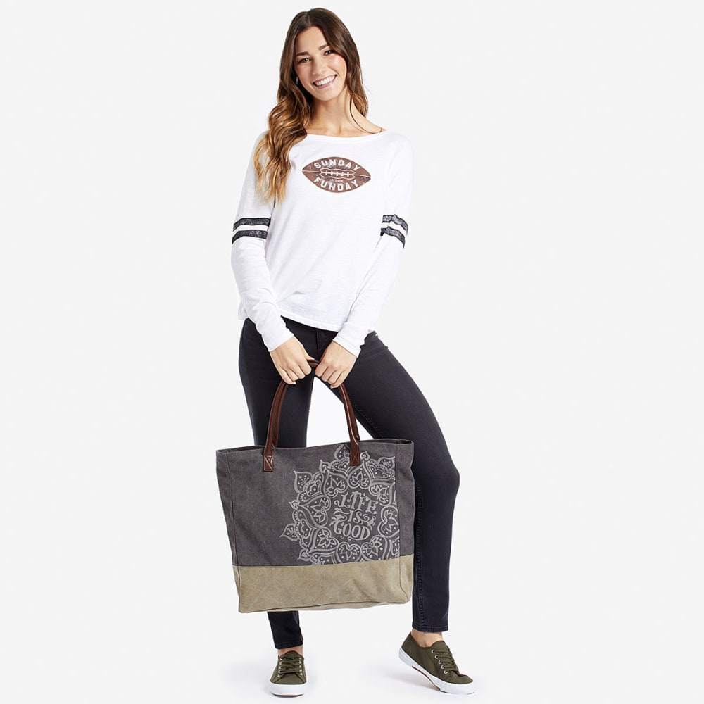 LIFE IS GOOD Dream Mandala All-In Tote - NO COLOR