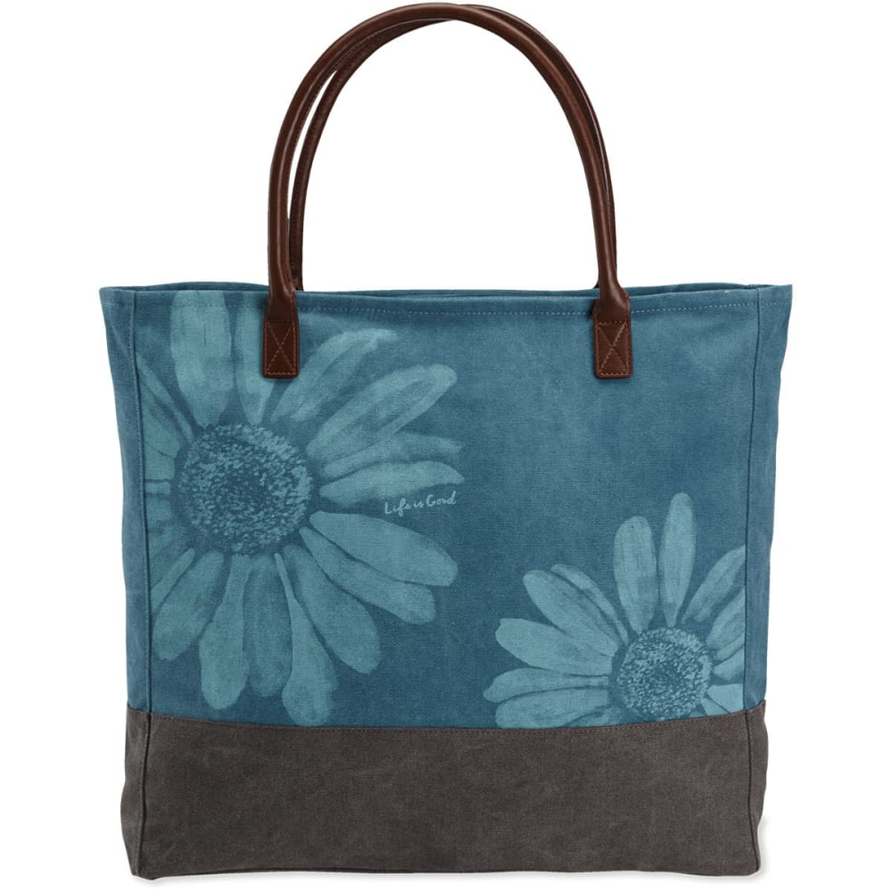 LIFE IS GOOD Daisies All-In Tote - NO COLOR