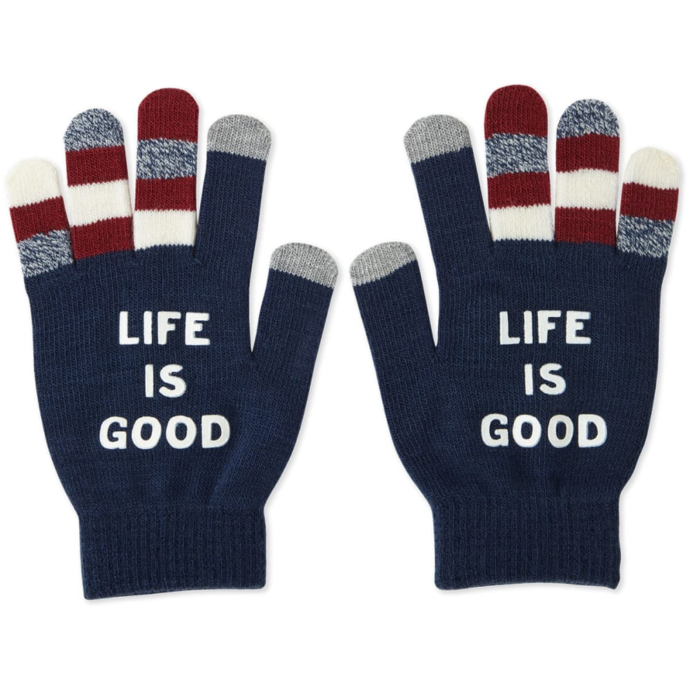 LIFE IS GOOD Women's LIG Branded Texting Gloves - NOVELTY