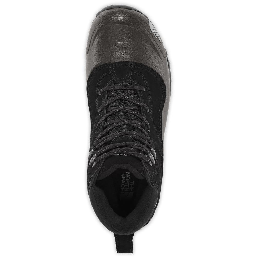 THE NORTH FACE Men's Snowfuse Mid Waterproof Winter Boots, TNF Black - TNF BLACK-KX7