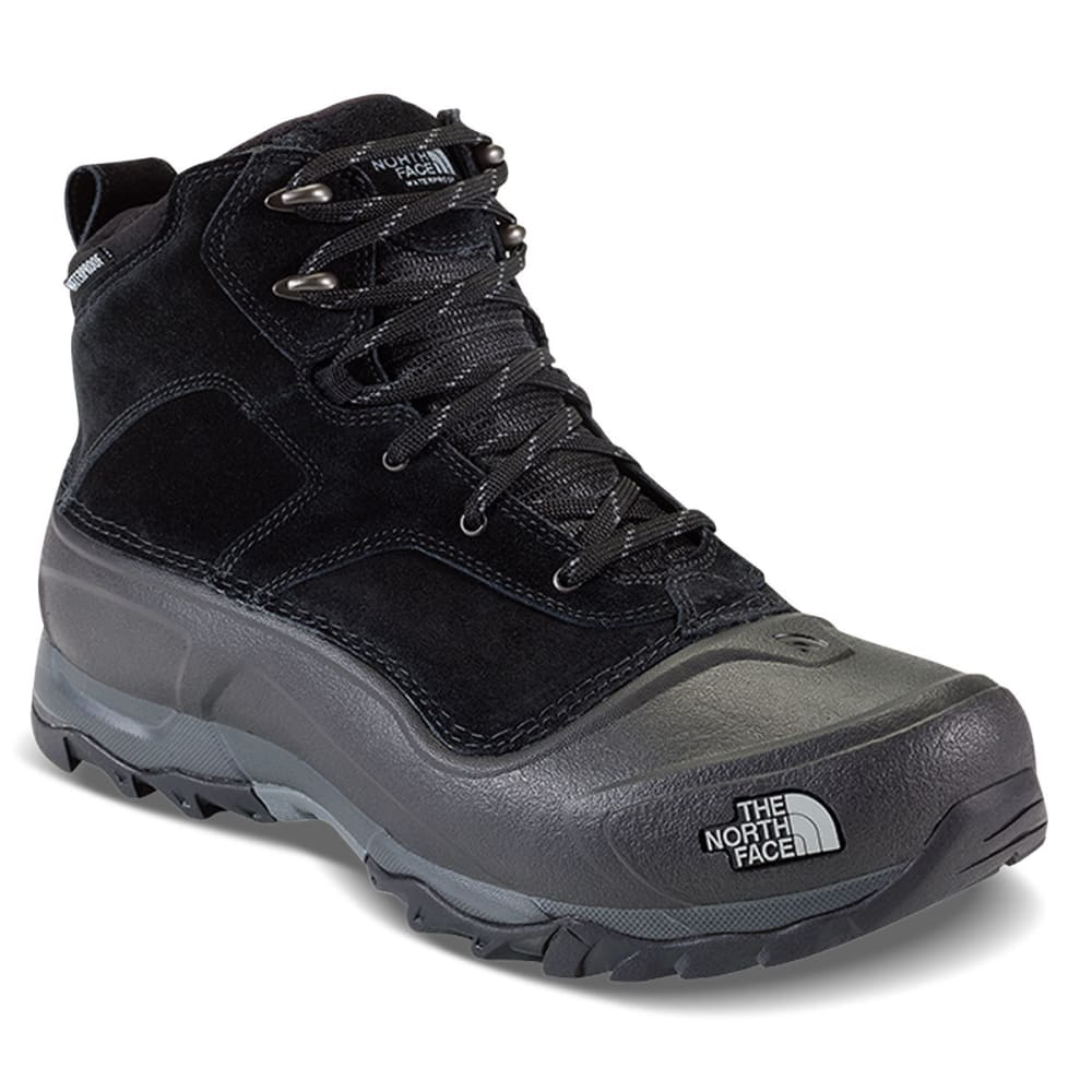 THE NORTH FACE Men's Snowfuse Mid Waterproof Winter Boots, TNF Black - TNF BLACK-KX7