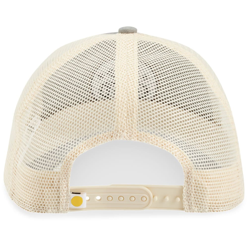 LIFE IS GOOD Men's Stacked LIG Circle Soft Mesh Back Chill Cap - SLATE GREY