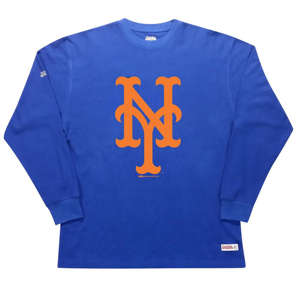 NEW YORK METS Men's Thermal Long-Sleeve Shirt - ROYAL BLUE