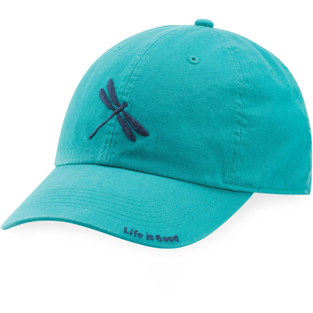 LIFE IS GOOD Women's Dragonfly Chill Cap - BRIGHT TEAL