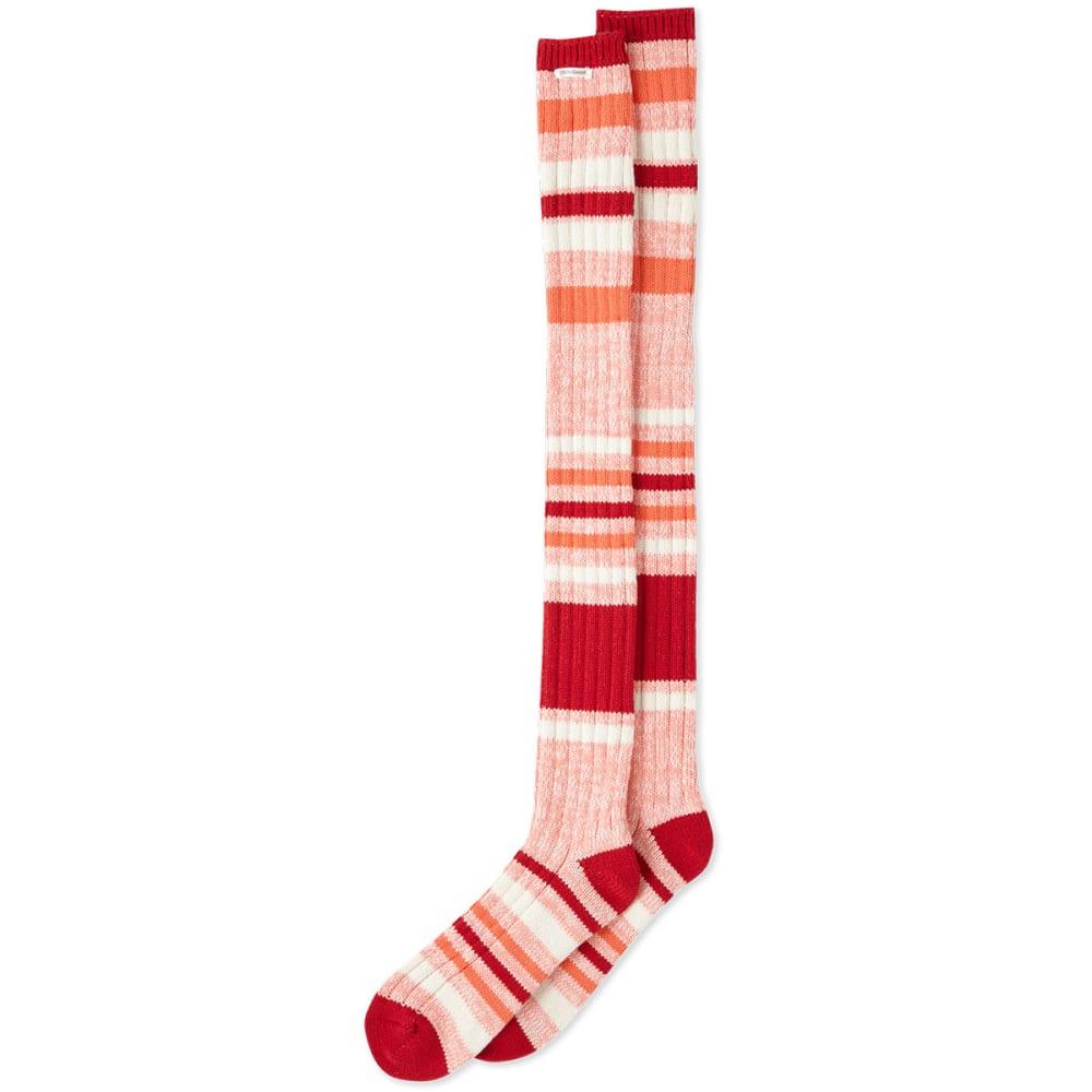 LIFE IS GOOD Women's Striped Over-the-Knee Socks - STRIPES
