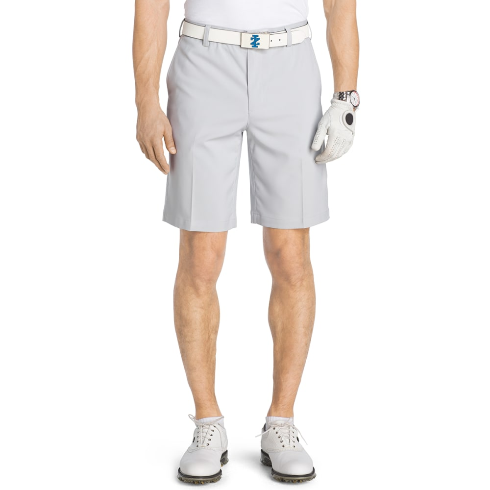IZOD Men's Flat Front Flex Golf Shorts - HIGH RISE-050