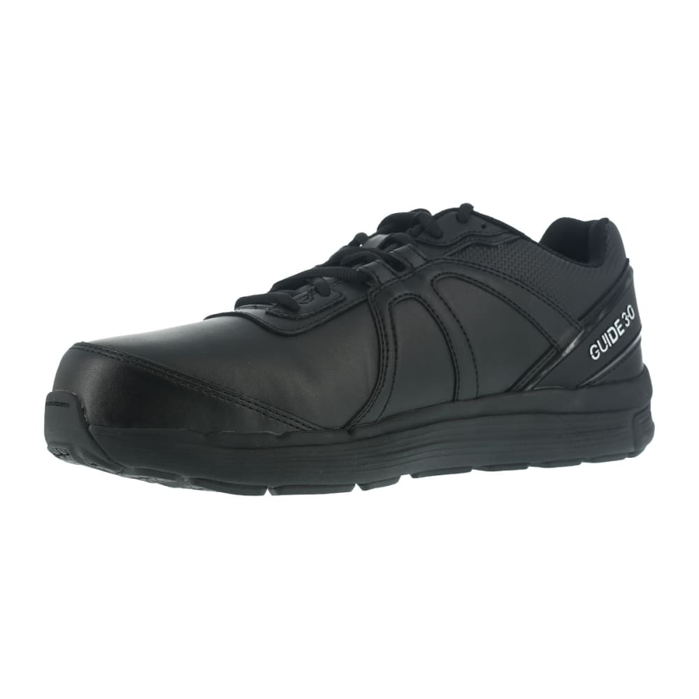 REEBOK WORK Men's Guide Work Steel Toe Work Shoes, Black - BLACK