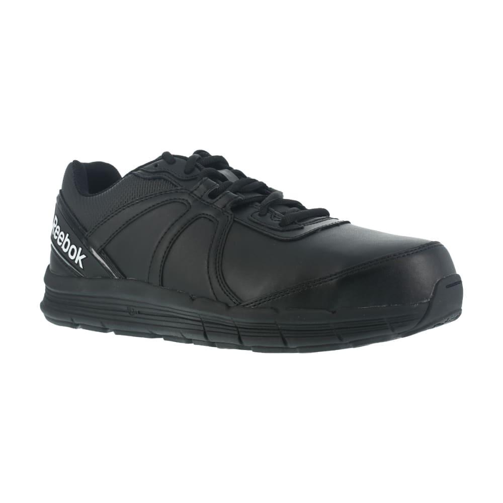 REEBOK WORK Men's Guide Work Steel Toe Work Shoes, Black 6